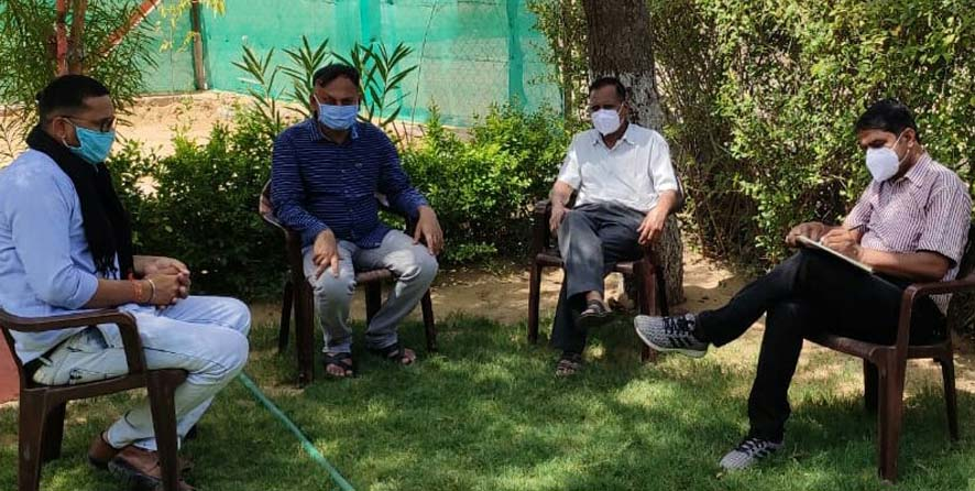 Child welfare committee inspects, directs to use masks