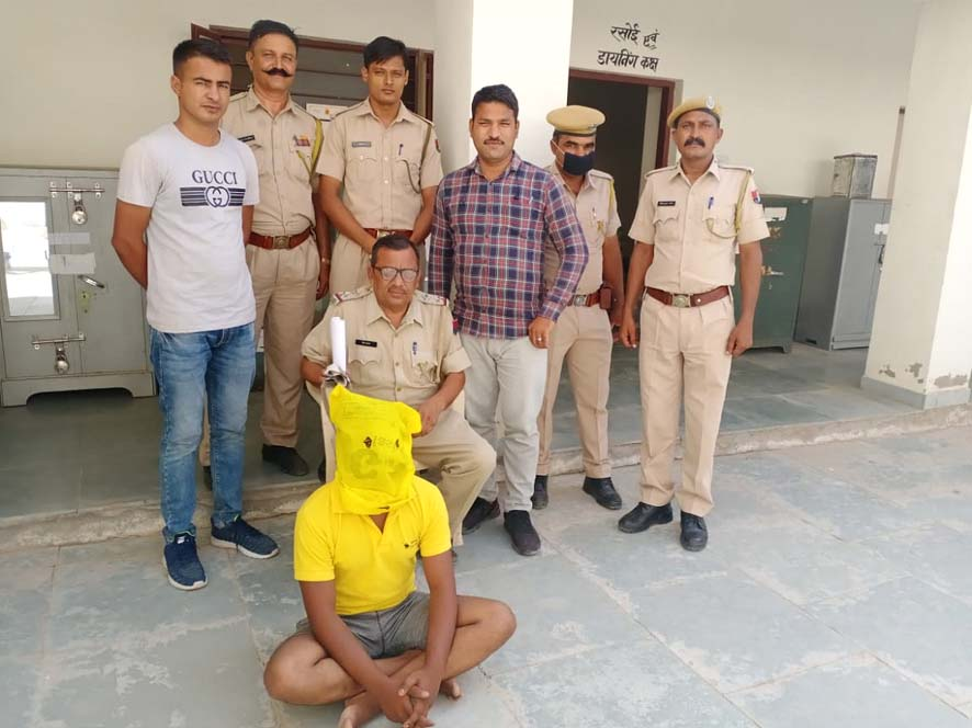 In the case of chain snatching in Jalore, the accused got caught in such 48 hours
