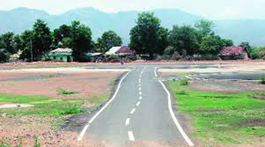 In Hemaguda, Chitwala, the villagers landed in protest