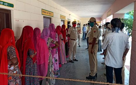 Record breaking 95 percent voting in first phase in Sarnau
