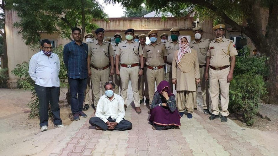 Fear of exposing illegal sexual relations in Jaipur carried out the murder incident