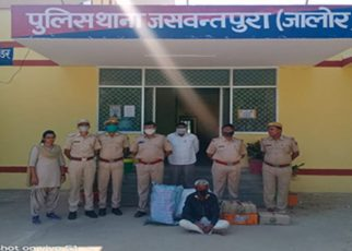 Illegal liquor recovered in Jaswantpura, accused arrested
